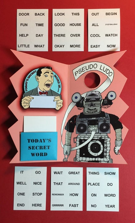 Image of Today's Secret Word Enamel Pin