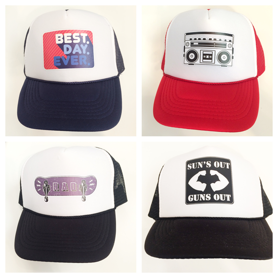 Image of youth trucker hat (4years on up)