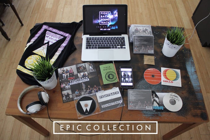 Image of KICKSTARTER Super Fan Bundle