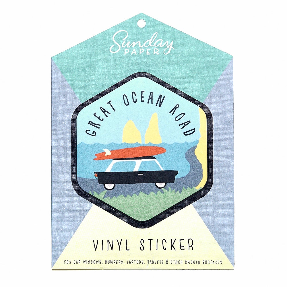Image of Great Ocean Road Vinyl Sticker