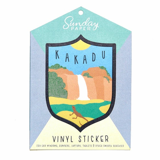 Image of Kakadu Vinyl Sticker