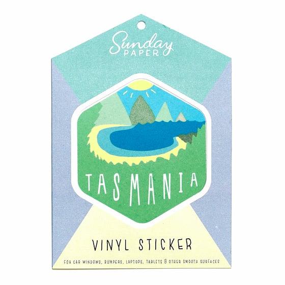 Image of Tasmania Vinyl Sticker