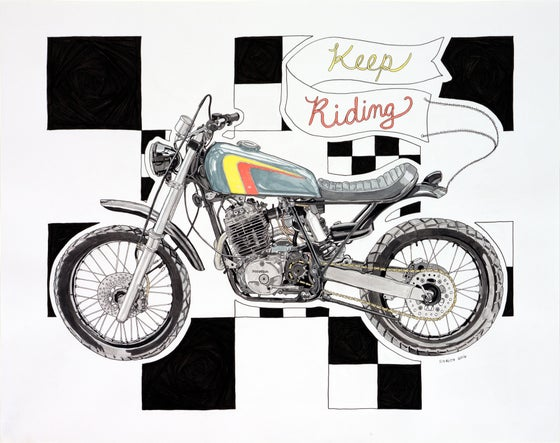 Image of Keep Riding
