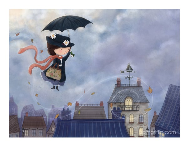 Image of MARY POPPINS - Archival Print