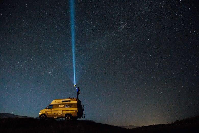 Image of Kamloops Stargazing Fine Art Print
