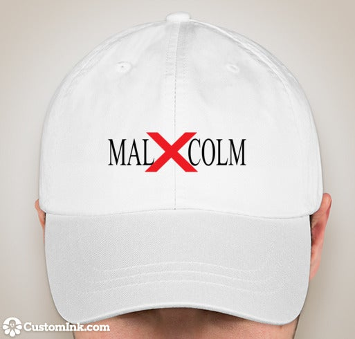 Image of MALCOM X HAT white