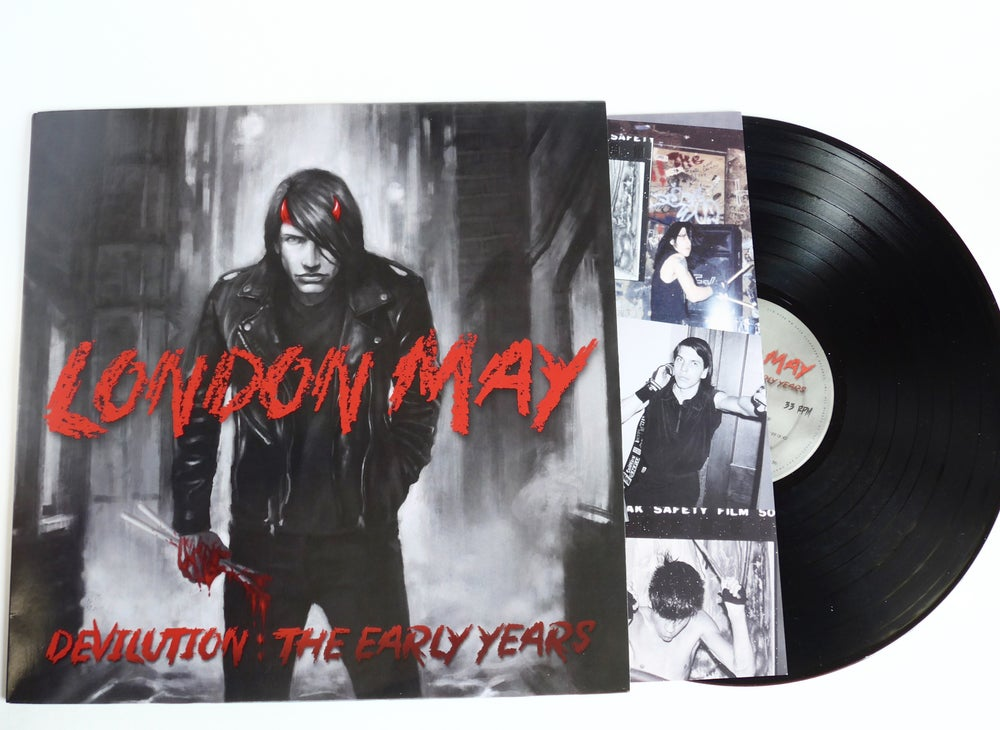 "Image of London May - ""Devilution"" Signed LP"