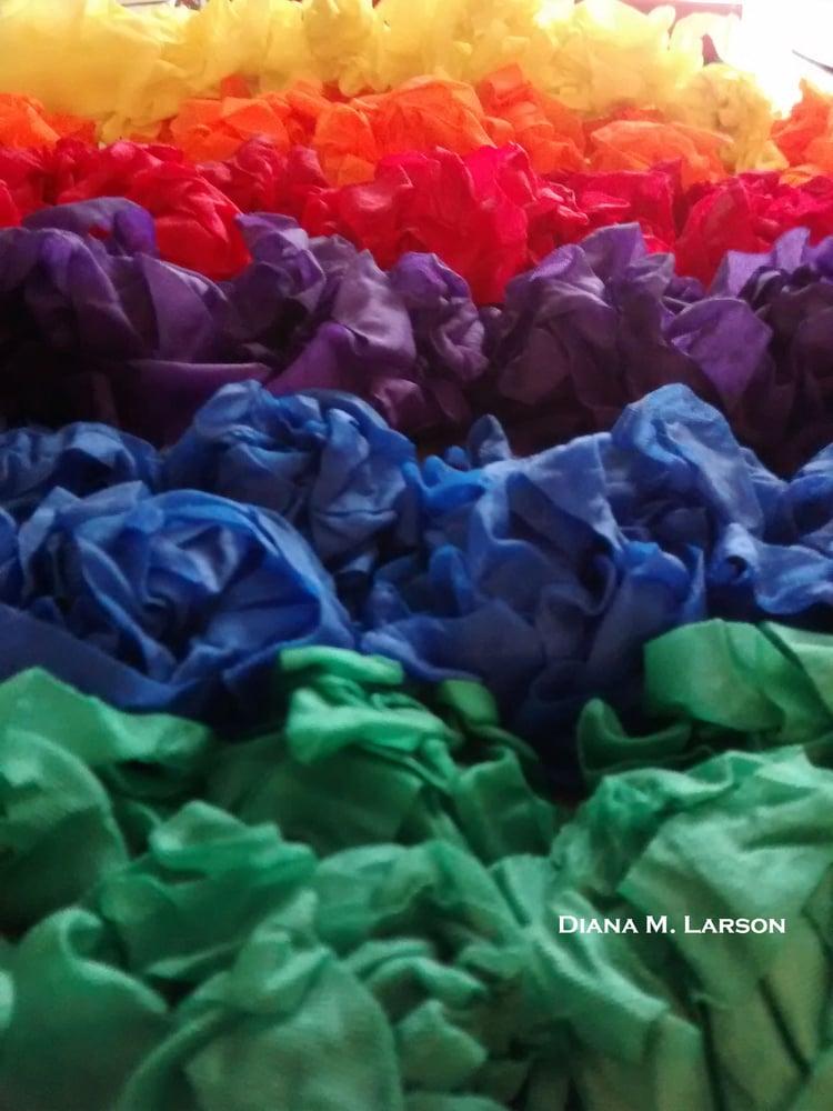 Image of The Rainbow bundle, Crinkle Ribbon