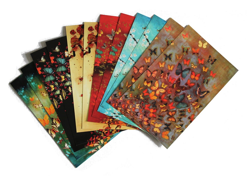 Image of END OF LINE SALE: Lily Greenwood Large Postcards Set of 12 (Combo 1)