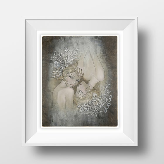 Image of 'Two Sisters' by Audrey Kawasaki