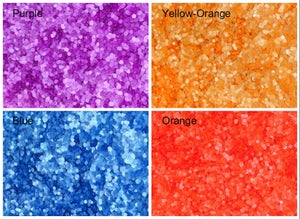 """Image of Neon Round (Dots) Glitter .8mm (.03"""")"""