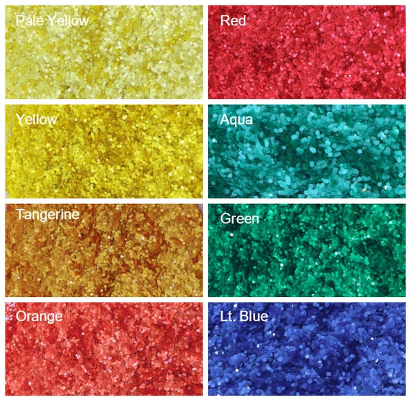 "Image of Matte Hex Glitter (.040"")"