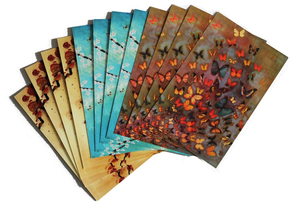 Image of END OF LINE SALE: Lily Greenwood Large Postcards Set of 12 (Combo 3)