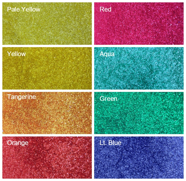 "Image of Matte Hex Glitter (.008"")"