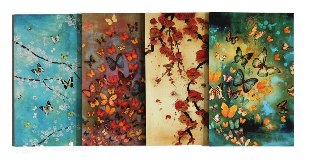 Image of END OF LINE SALE: Lily Greenwood Large Postcards Set of 8 (Combo 4)