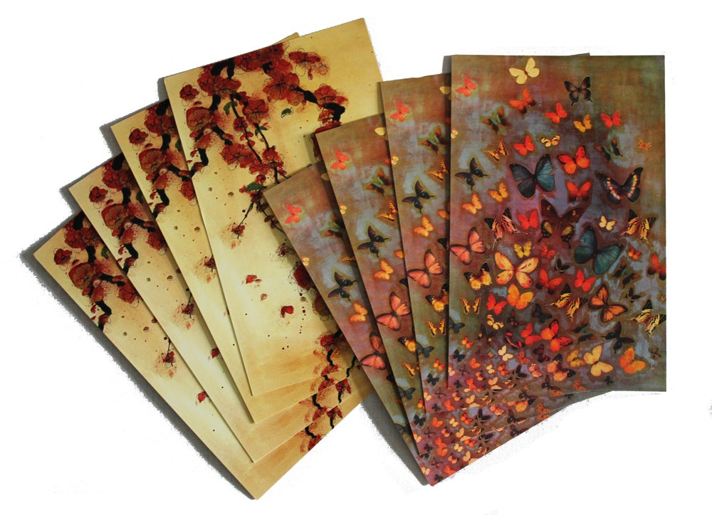 Image of END OF LINE SALE: Lily Greenwood Large Postcards Set of 8 (Combo 6)