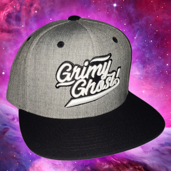 Image of Grimy Ghost! Snapback Hat