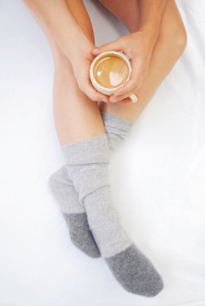Image of Cashmere Bed Socks