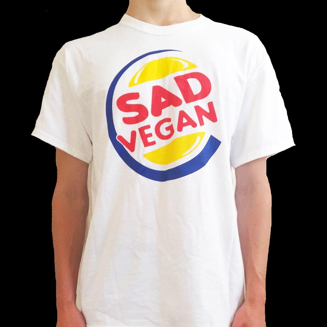 Image of Sad Vegan x Burger King Tee