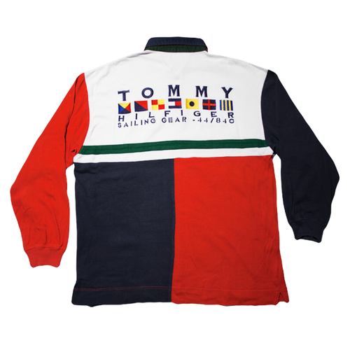 Image of Tommy Hilfiger Vintage Sailing Gear Polo