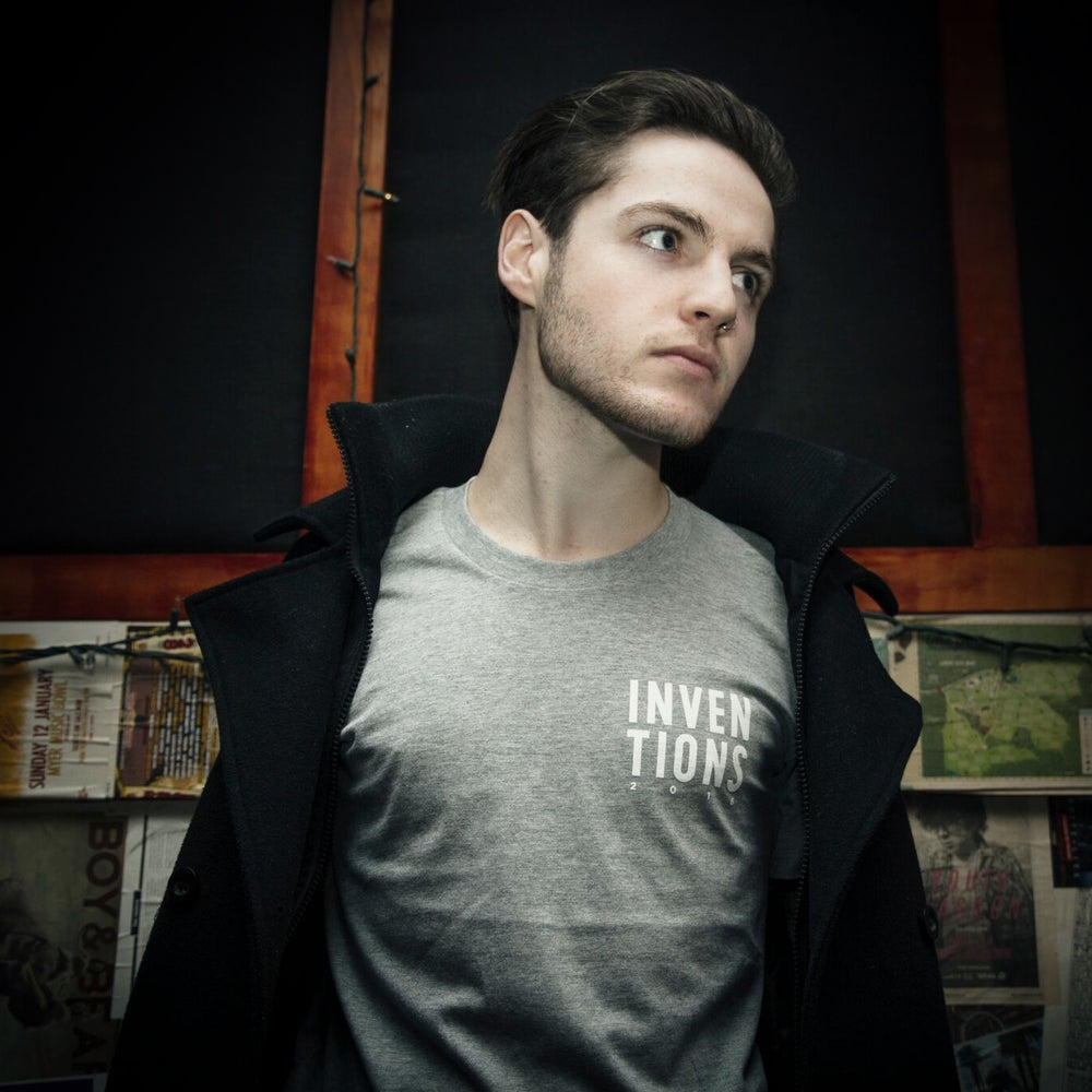 Image of INVENTIONS 2016 Staple Tee (Grey Marle)