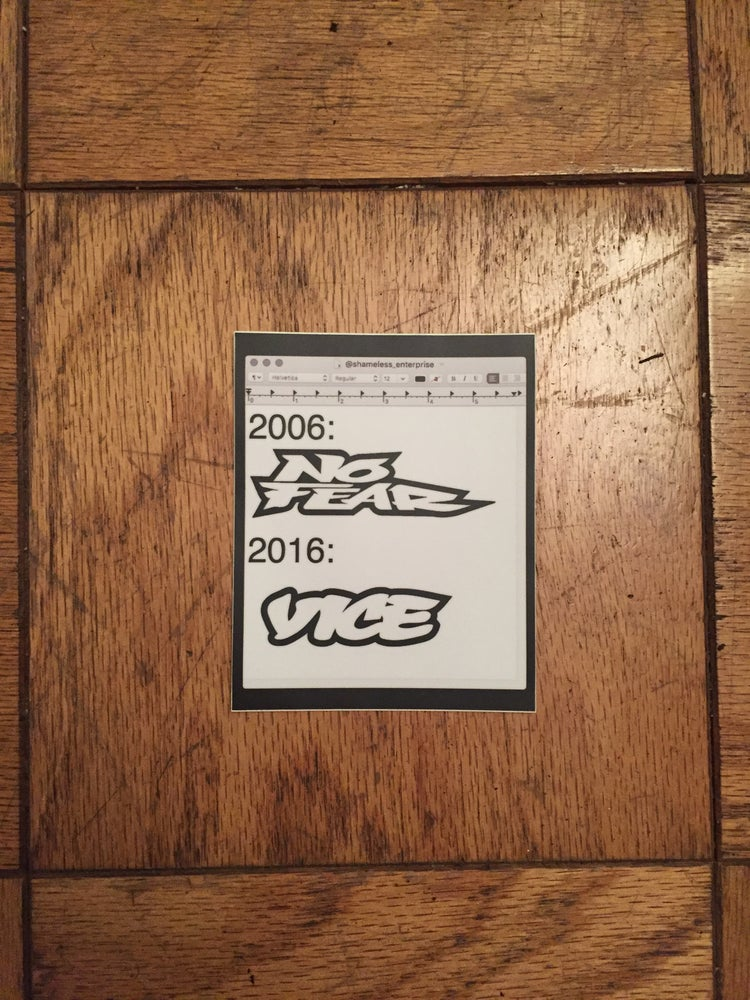 Image of NO VICE