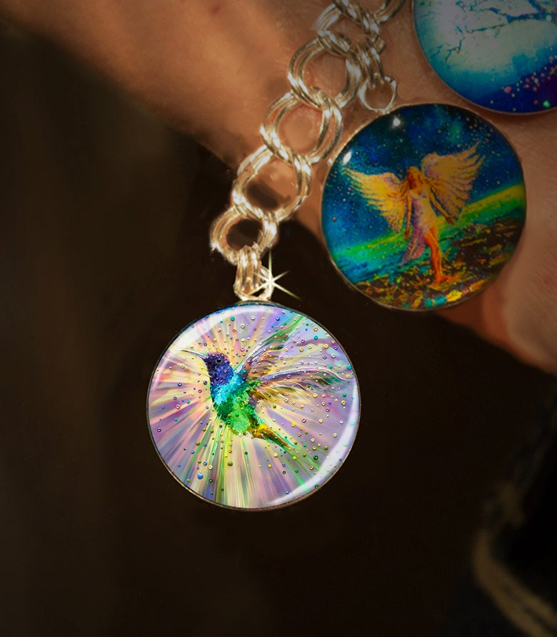 Image of Hummingbird Magic Energy Charm