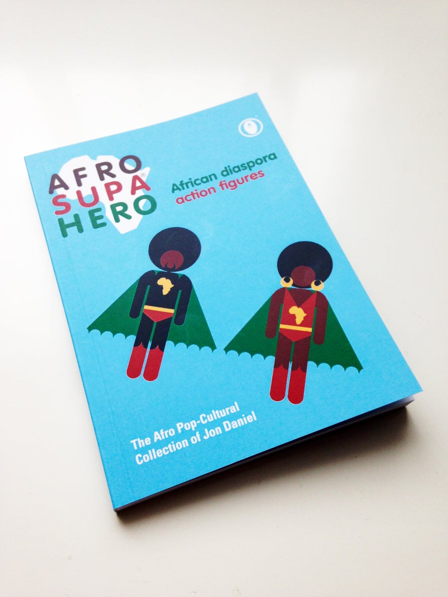 Image of AFRO SUPA® HERO A6 POCKET BOOK