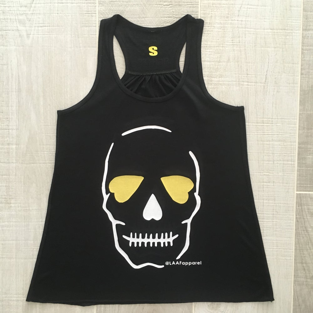 Image of Original Skull Vest - Black Magic