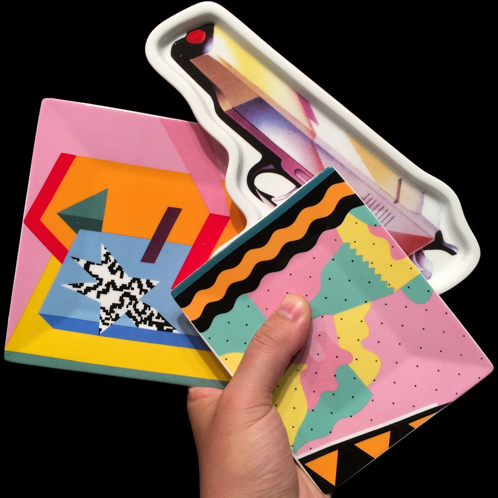 Image of 2016 Ceramic Mendini Trays