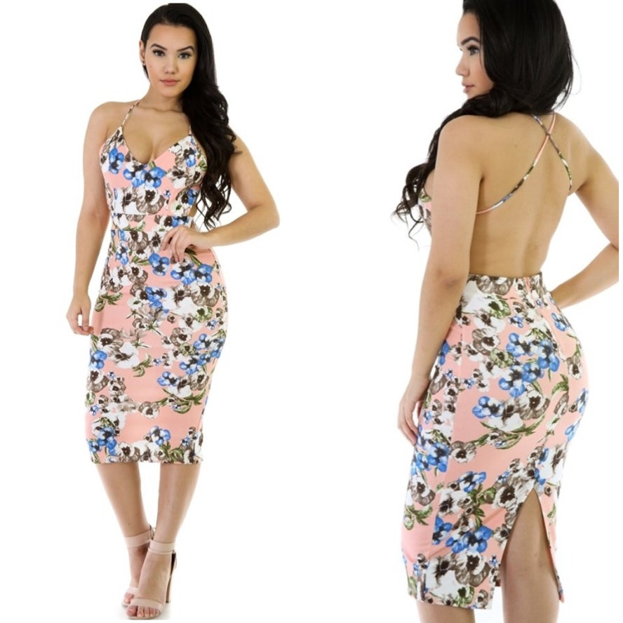 Image of Floral Midi