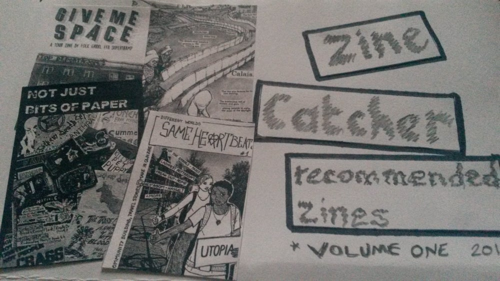 Image of Zine Catcher - zine reviews, issue 1