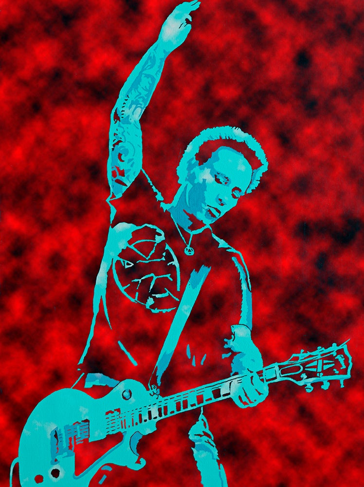 "Image of MORRISON LIVE RED EDITION 18"" x 24"""