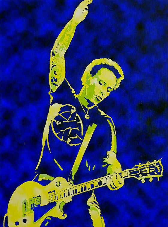 "Image of MORRISON LIVE BLUE EDITION 18"" x 24"""