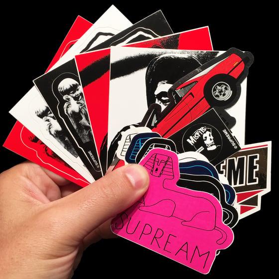 Image of 2013 SS Stickers (Misfits/GT/Emblem/Schminx)