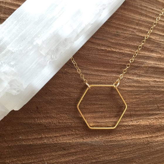 Image of Hexagon Pendant