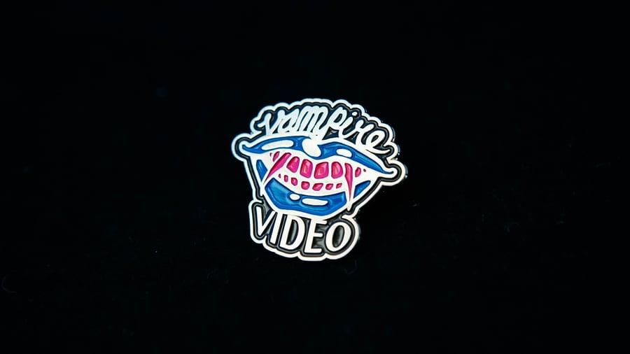 Image of Vampire Video Enamel Pin