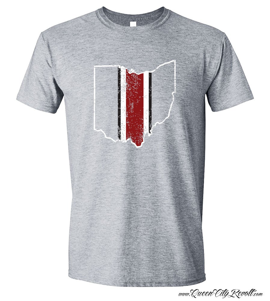 Image of Ohio Football Helmet Tee