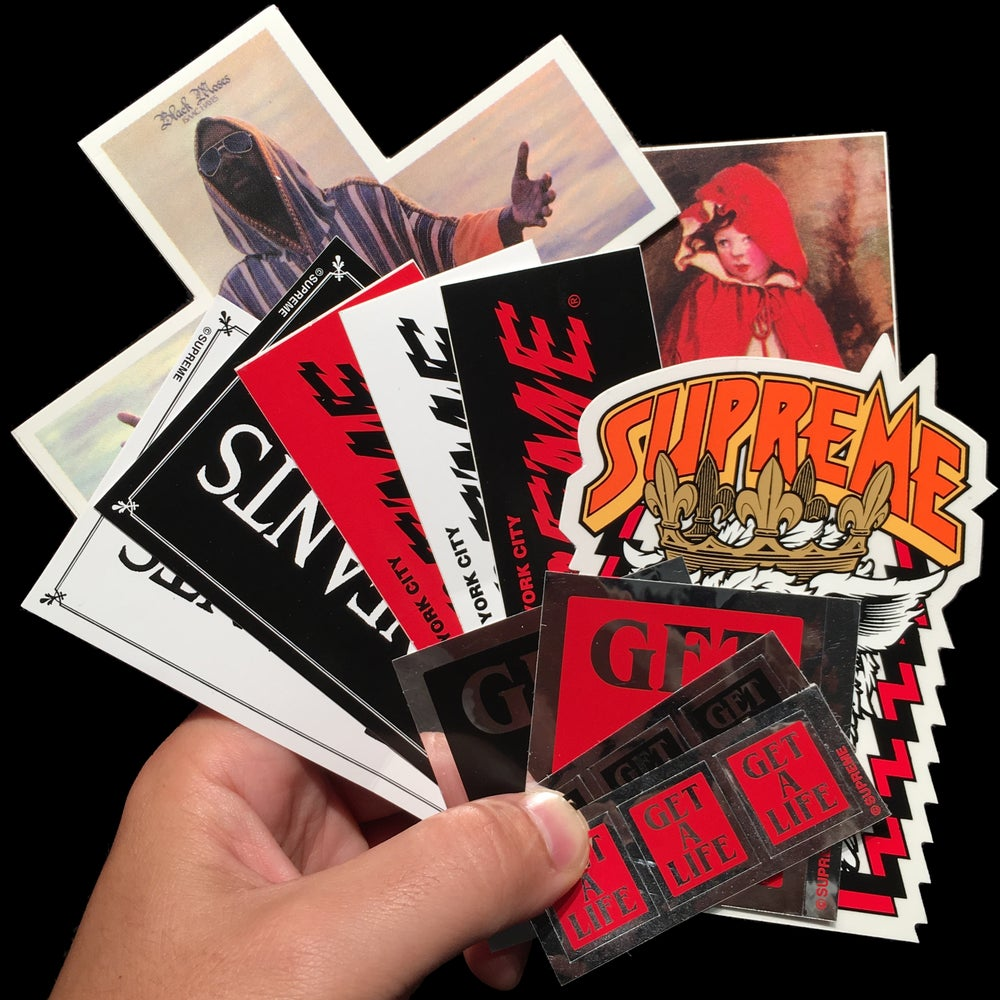Image of 2012 FW Stickers (Stax/Cliver)