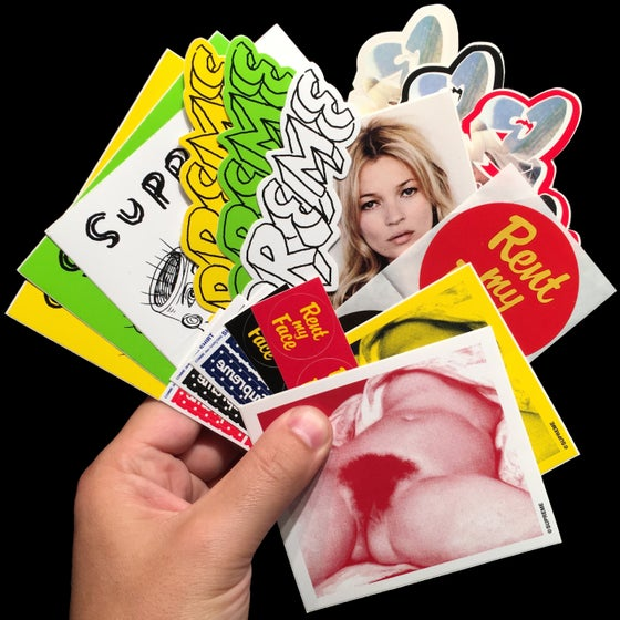 Image of 2012 SS Stickers (Kate/Daniel Johnston)