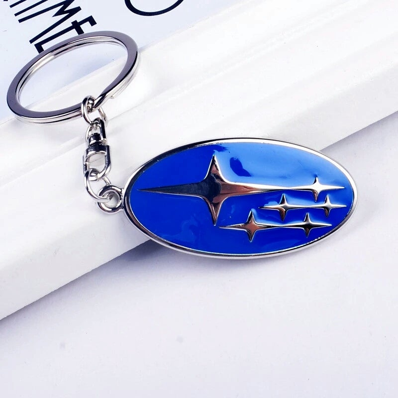 Image of Subaru Logo Key Ring
