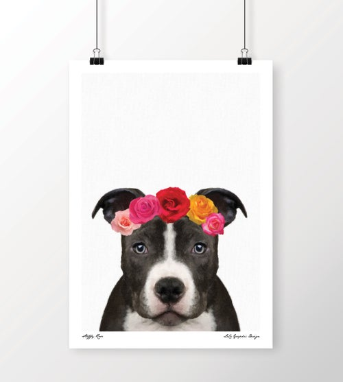 "Image of ""Staffy Rose"""