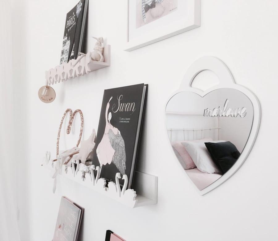 Image of Heart Locket Mirror