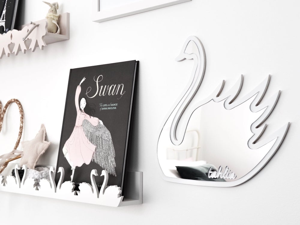 Image of Swan Mirror