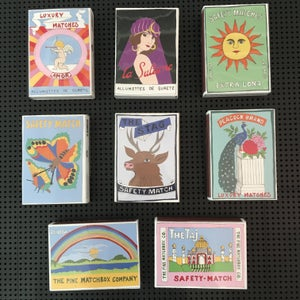 Image of Archivist x Rosie Wonders Matchboxes