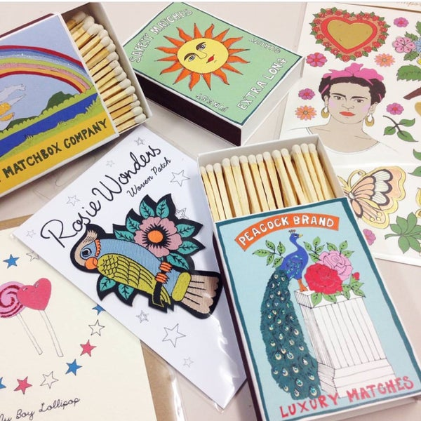 Image of Archivist x Rosie Wonders Matchboxes