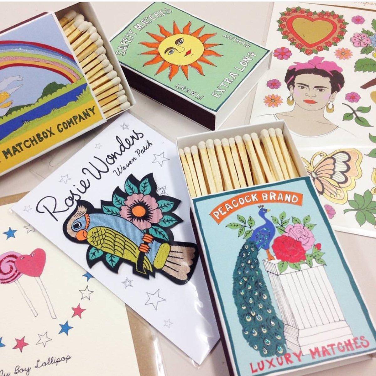 Archivist x Rosie Wonders Matchboxes