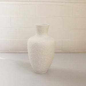 Image of German Bisque Porcelain Vase