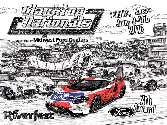 Image of Blacktop Nationals 2016 Commemorative Poster