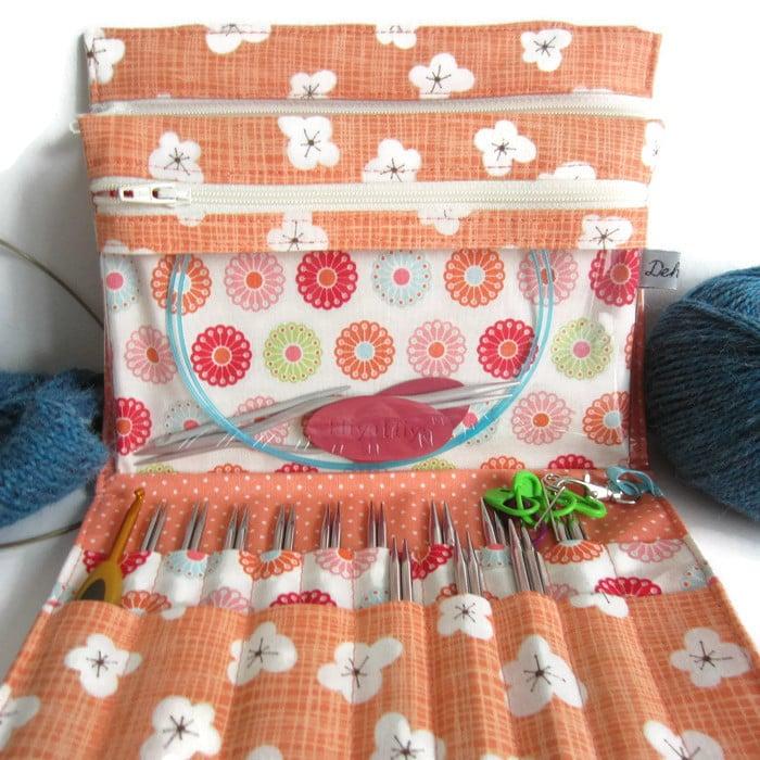 Image of Tutoriel de la Pochette de rangement Penelope pour aiguilles à tricoter